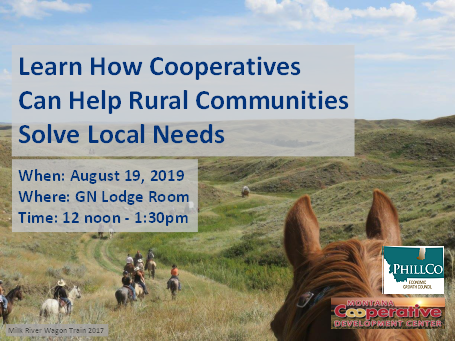 how cooperatives can help local communities solve local needs